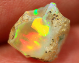 Cts2.20   FC223    .Rough Ethiopian Wello Opal   ~ Gem Grade -