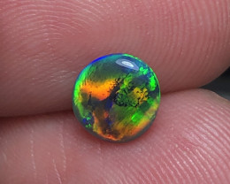1.0ct Lightning Ridge Gem Black Opal LRS800