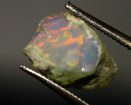 Cts2.10   FC100    .Rough Ethiopian Wello Opal   ~ Gem Grade -