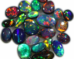 10.251 CTS BLACK OPAL  PARCEL FROM SEDA OPALS COLLECTION [LRO404]