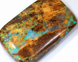 19ct 24x15mm Wood Fossil Pipe Boulder Opal  [LOB-2349]