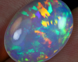5.00cts Top 5/5 Rainbow Patchwork Pattern Ethiopian Opal