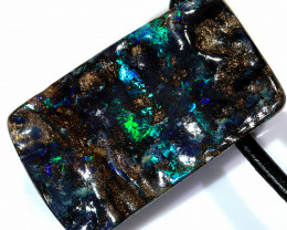 40ct 25x15mm Carved Boulder Opal Pendant [BOP-071]