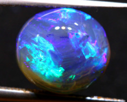 N4 -5.35 CTS QUALITY BLACK OPAL POLISHED STONE INV-1107