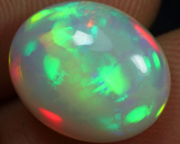 3.40cts Top Sparkling 5/5 Rainbow Fire Ethiopian Opal