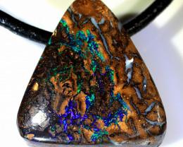 26ct 20x19mm Koroit Boulder Opal Pendant [BOP-072]