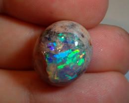 17.38ct Natural Mexican Matrix Cantera Multicoloured Fire Opal Specimen
