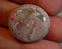 47ct  Blue  Mexican Matrix Cantera Multicoloured Fire Opal