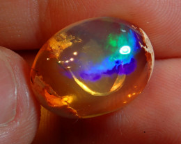 11ct  Mexican Matrix Cantera Multicoloured Fire Opal