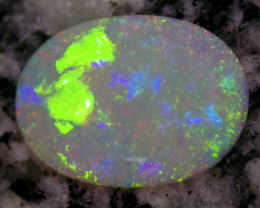 9 ct VERY SPECIAL PATERN JUST LOOK CRYSTAL OVAL OPAL RINGSTONE