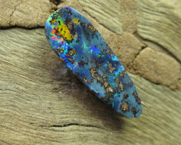 "4.5cts, ""BOULDER OPAL~ELECTRIC FLASH"""