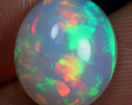 FREE SHIPPING 3.60cts Top 5/5 Rainbow Fire Ethiopian Opal
