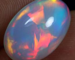 5.60cts 5/5 Rainbow Neon Cascade Pattern Ethiopian Opal