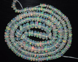 30.00 Ct Natural Ethiopian Welo Opal Beads Play Of Color