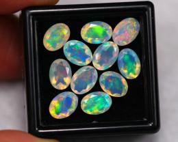 5.61Ct Multi Color Ethiopian Welo Faceted Opal ~ C2003
