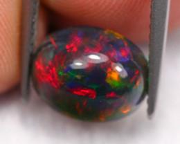 1.54Ct Multi Chaff Fire Pattern Ethiopian Welo Smoked Opal ~ C2006