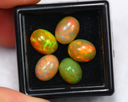 6.18Ct Multi Color Ethiopian Welo Opal ~ C2013