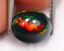 1.86Ct Fire Flash Pattern Ethiopian Welo Smoked Opal ~ C2014