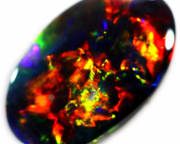 1.16 CTS BLACK OPAL STONE -LIGHTNING RIDGE- [LRO418]