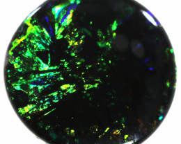 1.05 CTS  MYSTERIOUS BLACK OPAL STONE -LIGHTNING RIDGE- [LRO419]