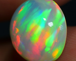 4.60 CRT ROUND ROLLING FLASH RAINBOW DELUXE COLOR WELO OPAL-