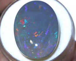 N5 -19.18 CTS QUALITY  DARK OPAL POLISHED STONE -INV-1135