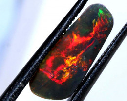 N5 -1.15 CTS QUALITY DARK OPAL POLISHED STONE INV-1148