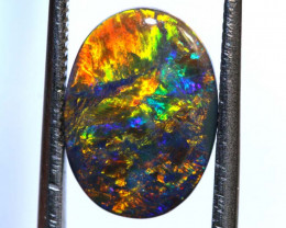 N3 -2.24 CTS QUALITY BLACK OPAL POLISHED STONE INV-1150