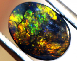 N3 -1.51 CTS QUALITY BLACK OPAL POLISHED STONE INV-1151