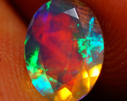 8X6 MM AAA Faceted Cut Ethiopian Opal-JA549