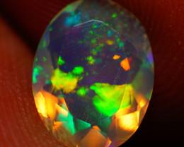9X7 MM AAA Faceted Cut Ethiopian Opal-JA559