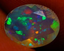 9X7 MM AAA Faceted Cut Ethiopian Opal-JA560