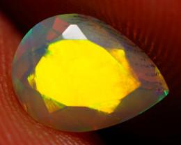 8X6 MM AAA Faceted Cut Ethiopian Opal-JA573
