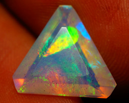 2.86 CT CUSTOM CUT!! Quality Faceted Cut Ethiopian Opal-BAA79