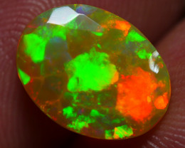 2.05 CRT AMAZING FACETED MOSAIC PATTERN MULTICOLOR WELO OPAL