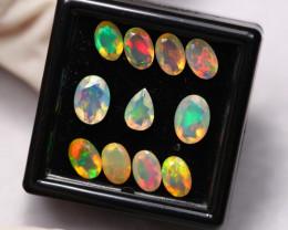 3.67Ct Multi Color Ethiopian Welo Faceted Opal ~ D2111