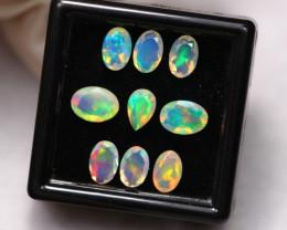 3.08Ct Multi Color Ethiopian Welo Faceted Opal ~ D2114