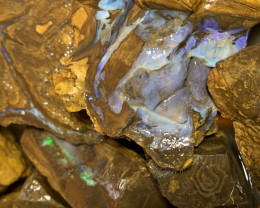 32000 Carats of Rough Boulder Opal, Queensland Boulder; #114