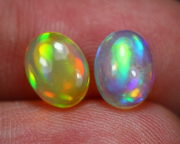 2.42Ct Multi Color Ethiopian Welo Opal ~ D2311