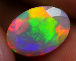 2.55 CRT PERFECT BROADFLASH FLORAL FACETED PLAY MULTICOLOR WELO OPAL