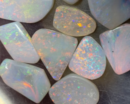 58.8 Carats of Solid/Natural White Cliffs Opal Rubs, #115