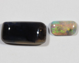 1.70ct --The Odd Couple-- Lightning Ridge Opal Parcel [20743]