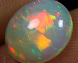 SUPER DEAL 2.50cts Broad Chaff Rainbow Fire Ethiopian Opal