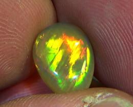 2.60 cts Ethiopian Welo BRUSH STROKES brilliant opal N5 5/5