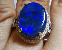 BLACK OPAL RING GORGEOUS