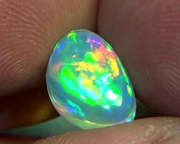 2.80 cts Ethiopian Welo CHAFF crystal opal N9 4,5/5
