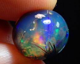 8.09ct Blue Mexican Matrix Cantera Multicoloured Fire Opal