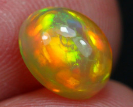 1.61Ct Top Bright 5/5 Patchwork Pattern Ethiopian Welo Opal ~ D2502