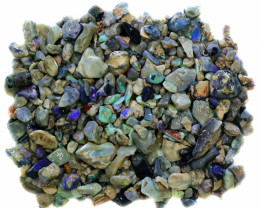 2845.00 CTS COLOURFUL OPAL ROUGH MINE RUN FROM LIGHTNING RIDGE[BR-SAFE118]