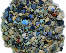 3420.00 CTS COLOURFUL OPAL ROUGH MINE RUN FROM LIGHTNING RIDGE[BR-SAFE106]